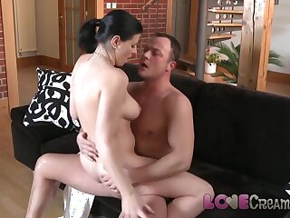 Love Creampie Busty mature babe anal internal cum shot
